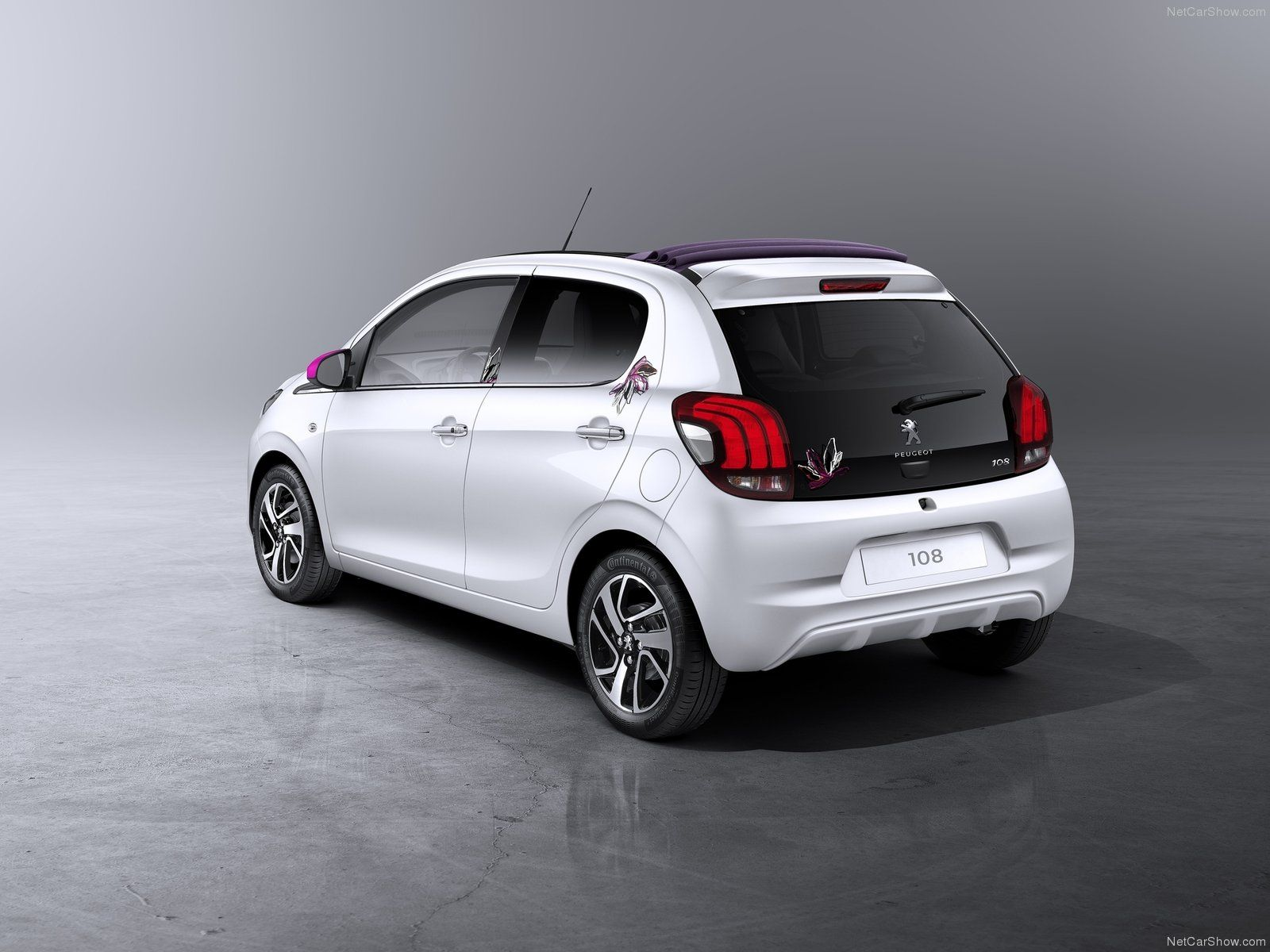 Peugeot 108 2014 2015 In White Blanc Weiss Wit Compact City