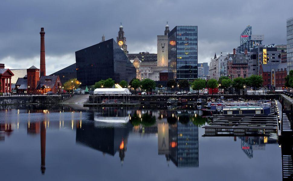 Liverpool City Hd Wallpaper Liverpool City Liverpool Uk England Travel