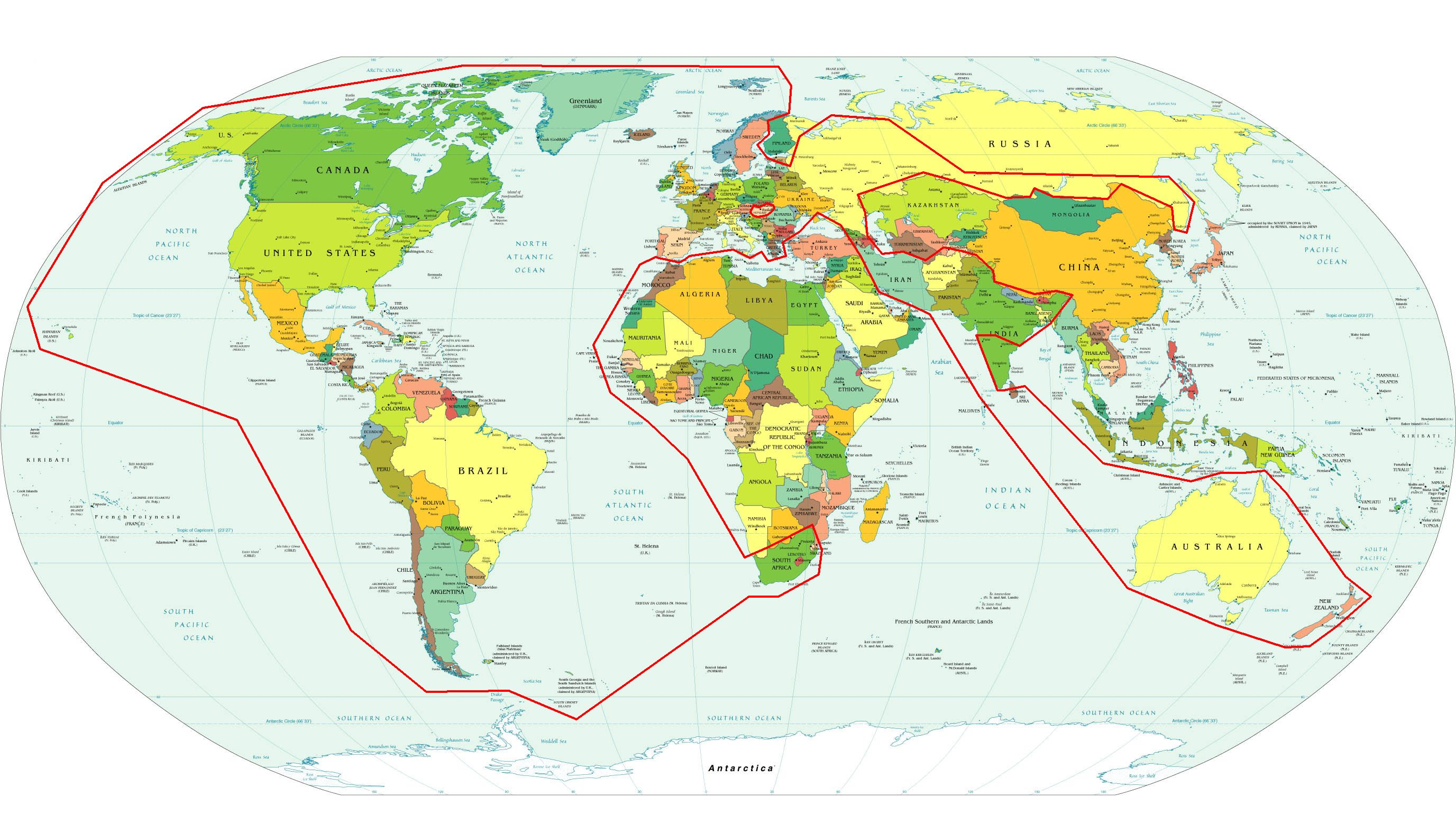 Indo european language areas of the world maps and globes indo european language areas of the world gumiabroncs Image collections
