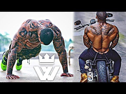 crossfit workout music  explosive aesthetic guy  chadoy