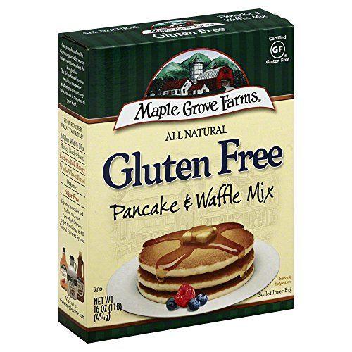 Maple Grove Farms All Natural Gluten Free Pancake Waffle ...