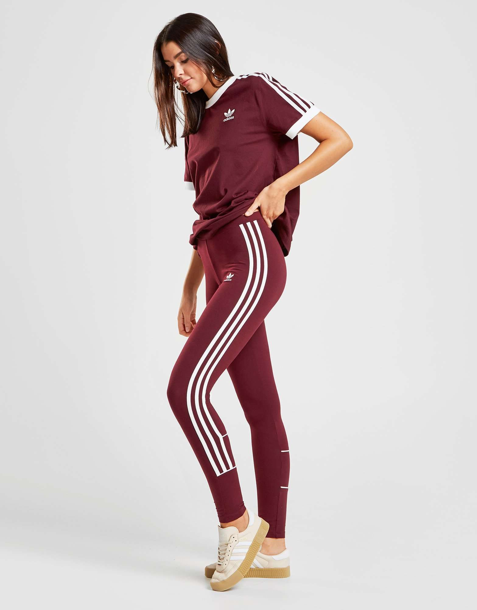 Adidas Originals 3 Stripes Piping Leggings Shop Online For Adidas Originals 3 Stripes Piping Leggings With Jd Sports The Uk S Retail Fashion Fashion Clothes