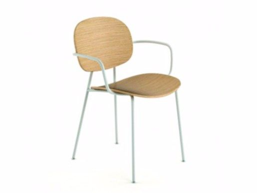 Tondina Chaise Avec Accoudoirs By Infiniti By Omp Group Design Favaretto Partners
