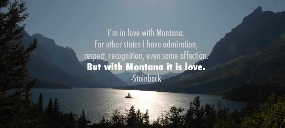 Picture I took from Glacier National Park + Favorite quote