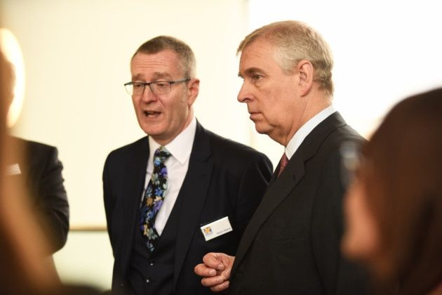 Th Duke of York visited the King's Lynn Innovation Centre. Picture: Ian Burt