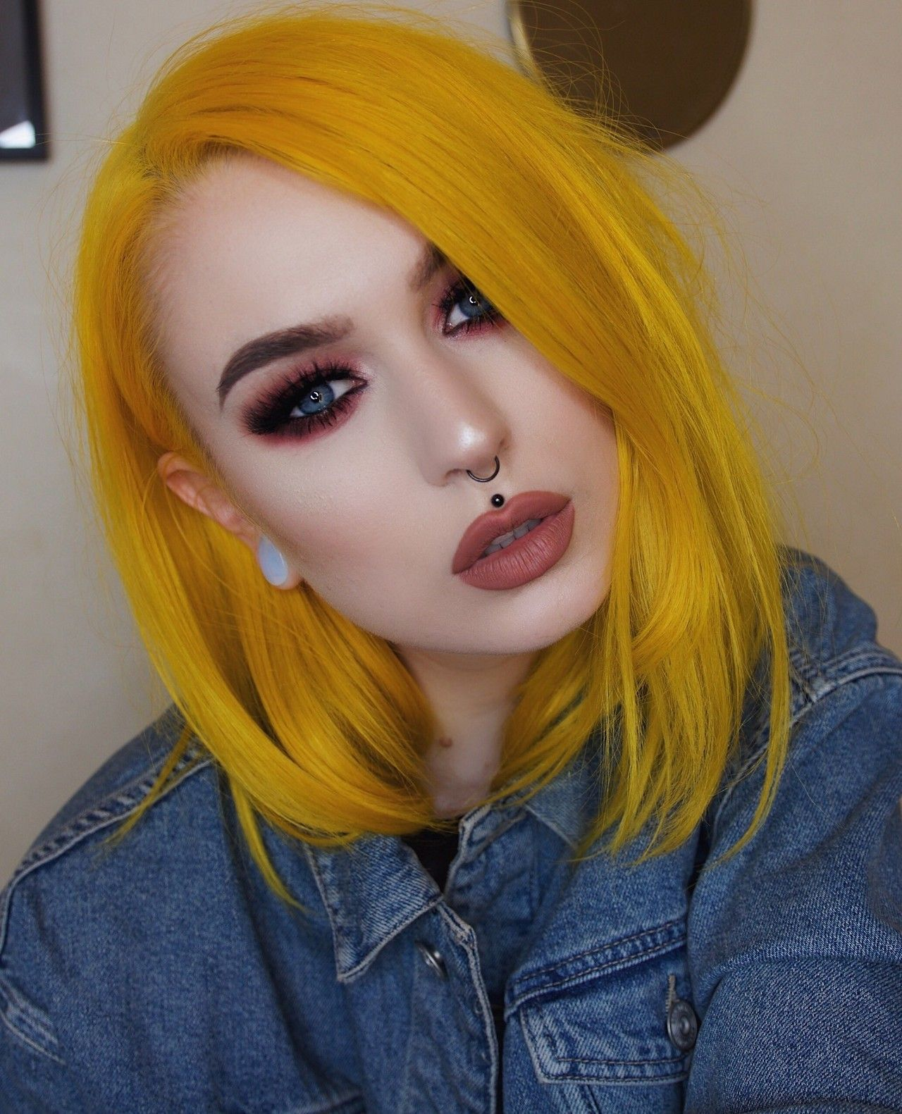 Evelina Forsell Like My Facebook Page Color Head Yellow Hair Color Cool Hairstyles Hair Styles