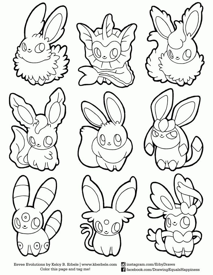 Pokemon Coloring Pages Eevee Evolutions Together From The Thousand Photos On Pokemon Coloring Pages Pokemon Coloring Sheets Pokemon Coloring