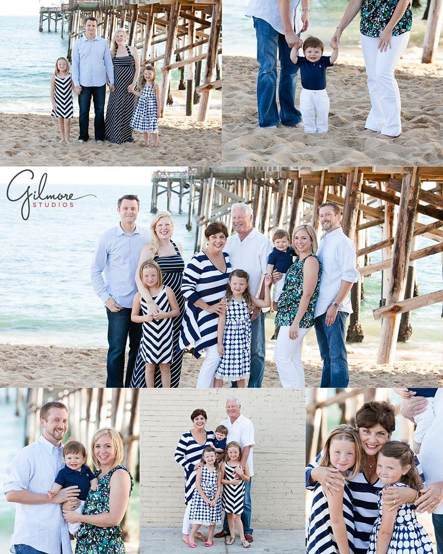 Family Portrait Photography Session Balboa Beach Photographer Newport Ca Pier Outfits Reunion Sand Kids Children Fun