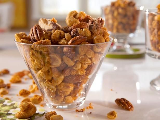 Get Sweet and Sassy Nuts Recipe from Cooking Channel