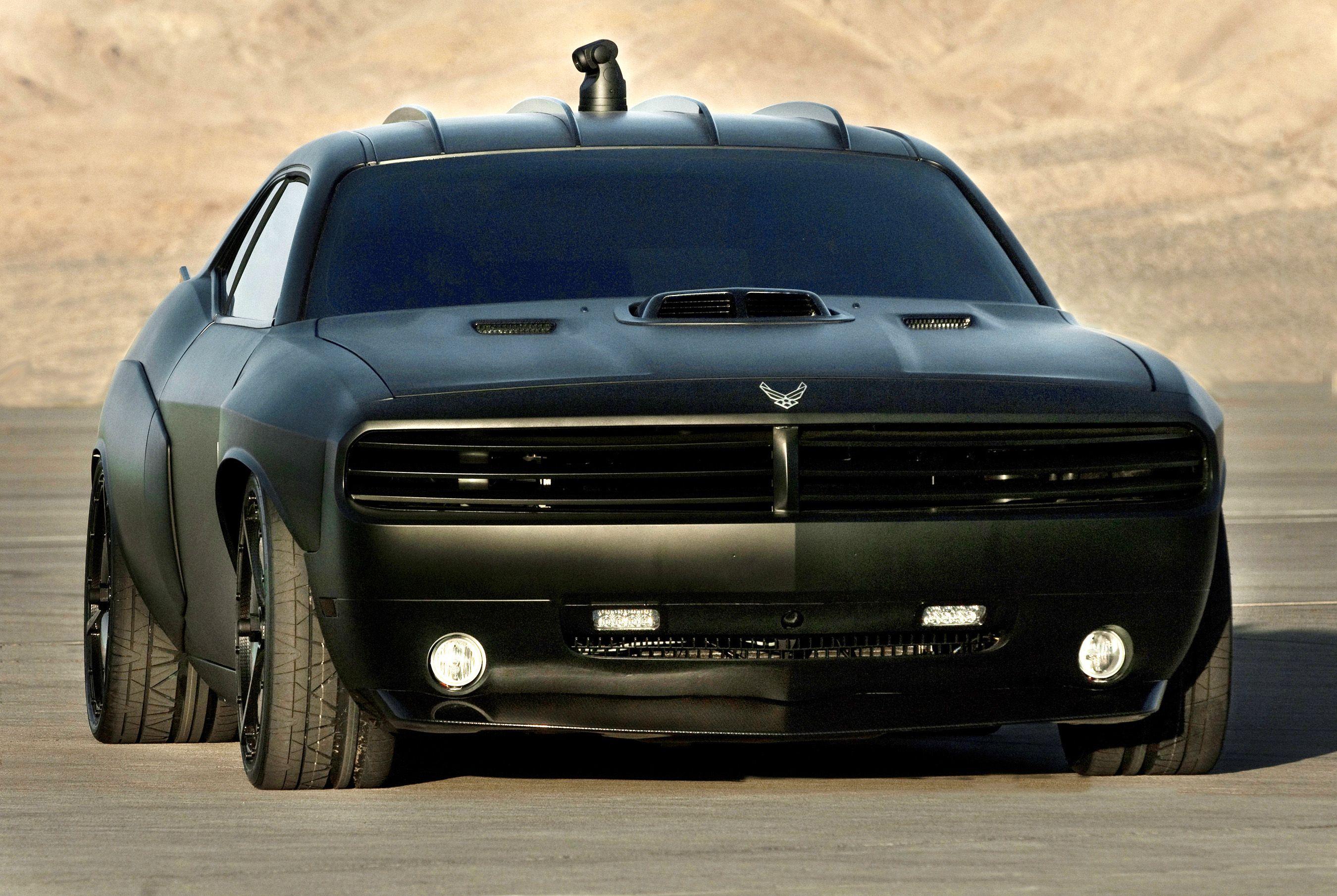 U.S. Air Force Car: Dodge Challenger Vapor ( black matte ) | Cars ...