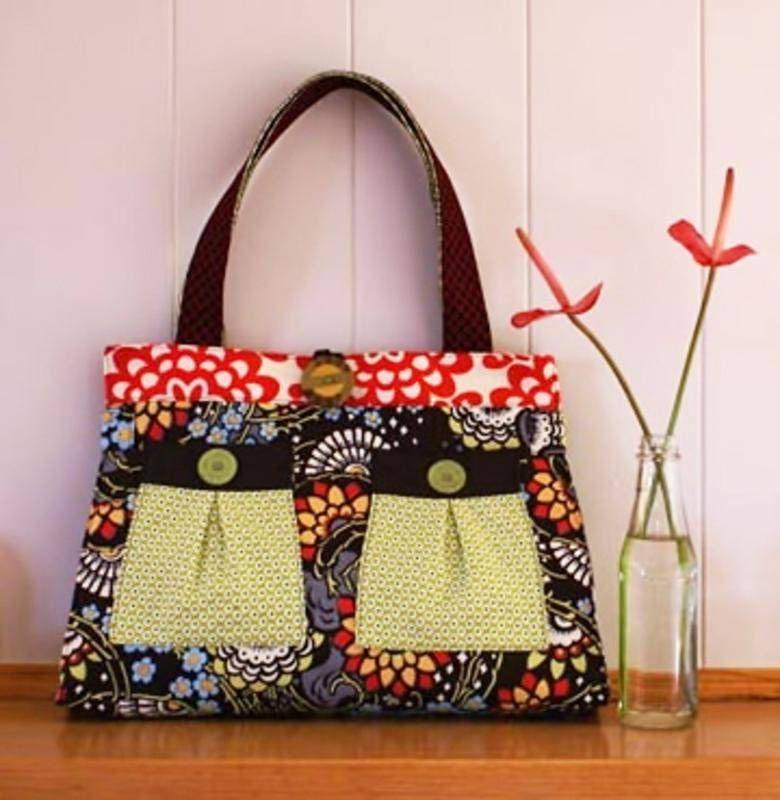 Patron sac main black forest de melly me patron couture boutique mizy fait maison - Couture sac a main ...