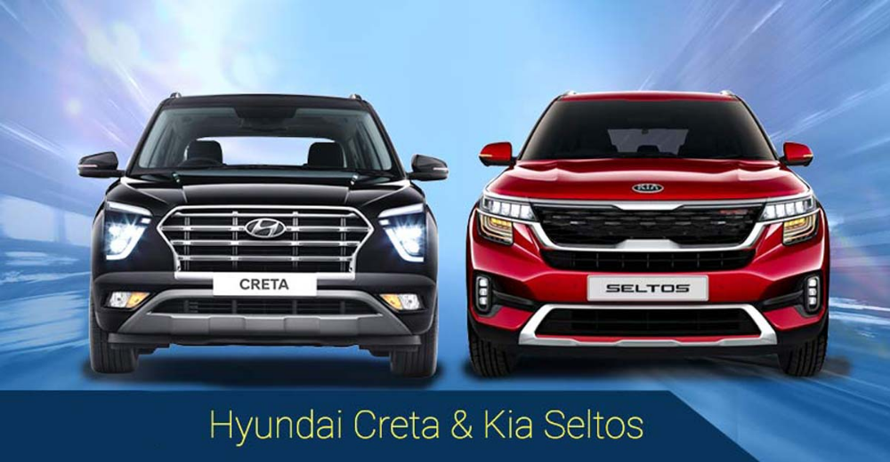 New Hyundai Creta Vs Kia Seltos Same But Different Too In 2020 New Hyundai Hyundai Kia