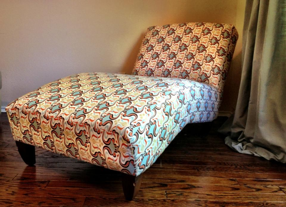 Reupholstered Chaise Lounge : how to reupholster a chaise lounge - Sectionals, Sofas & Couches