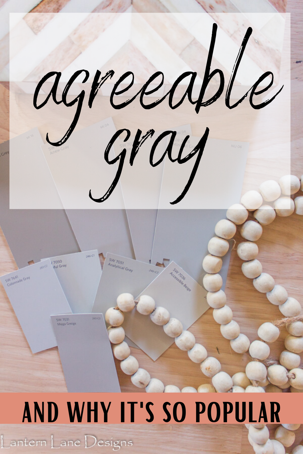 Sherwin Williams Agreeable Gray~A soft gray paint color that works great in any space in your home and pairs nicely with almost any paint color #homedecor #modernfarmhouse #diyhomedecor