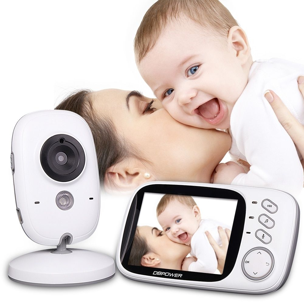 Gizmeister}}   Baby monitor, Wireless baby monitor, Security