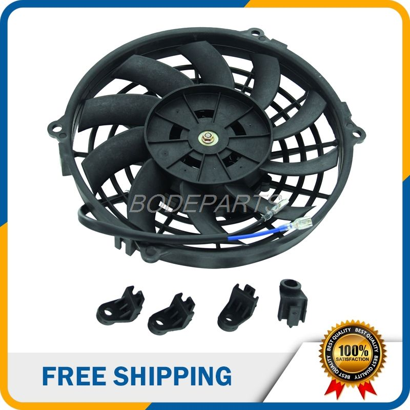Motorcycle Parts Engine Radiator Cooling Fan For Oil Cooler Water