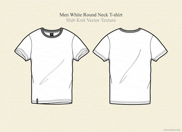 Download Men White Round Neck T Shirt Shirt Sketch Shirt Drawing Shirt Illustration