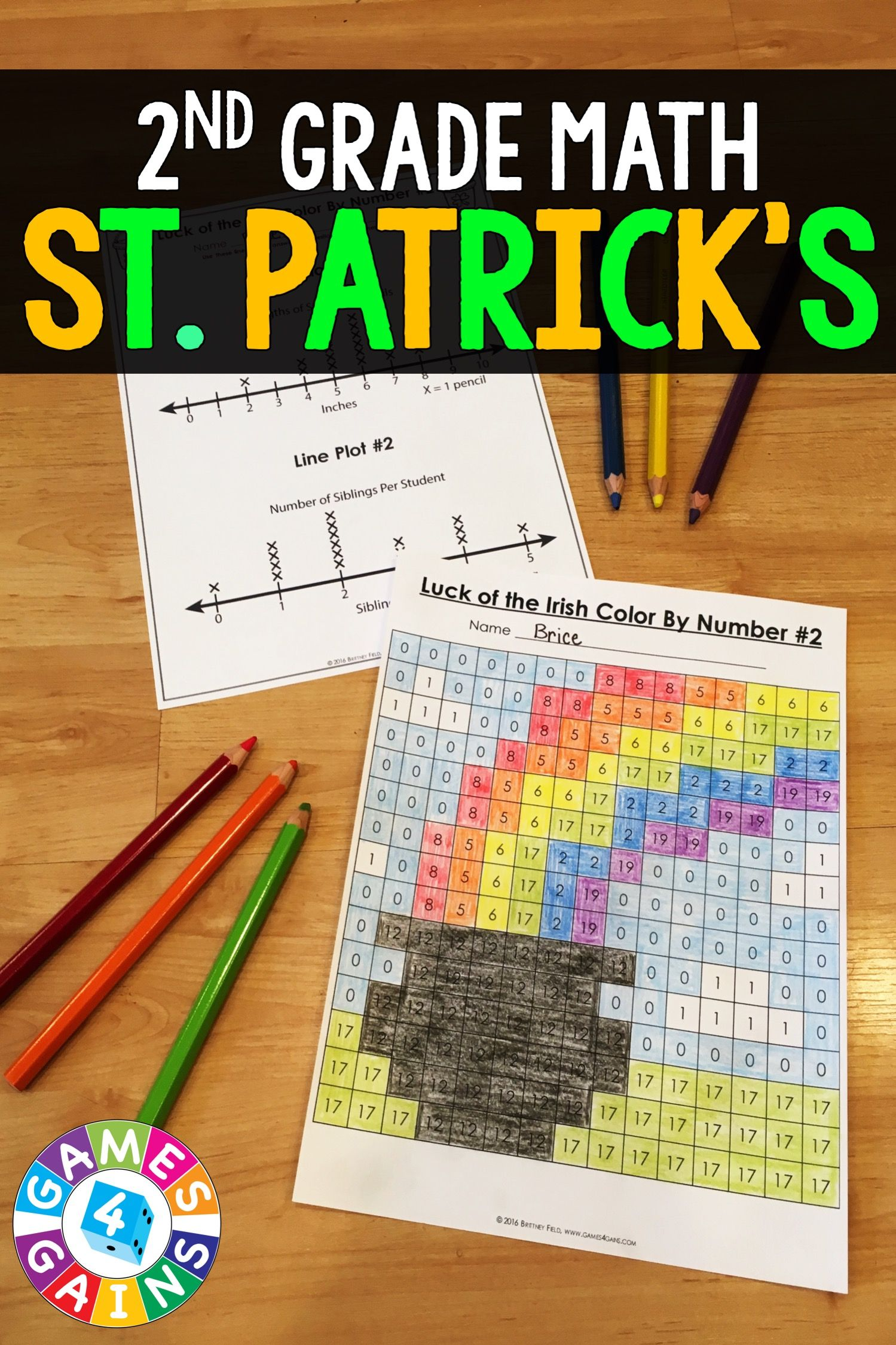 2nd Grade St Patrick S Day Activities 2nd Grade St