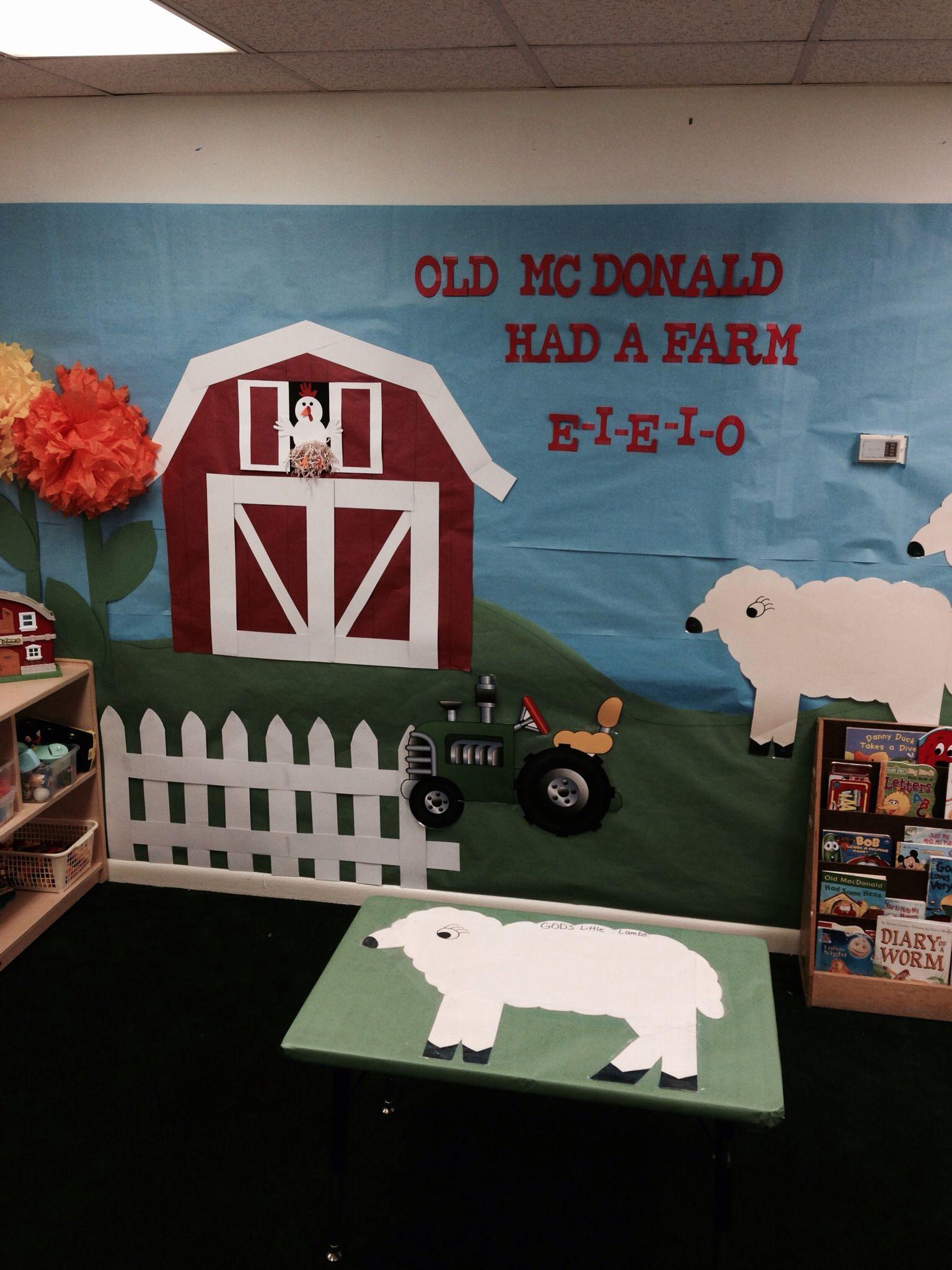 Farm Theme Bulletin Board