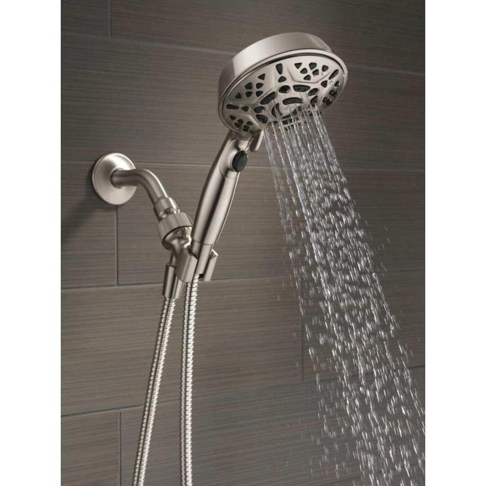Delta Faucets 75716sn 7 Spray Head Shower Head Handheld H2okinetic