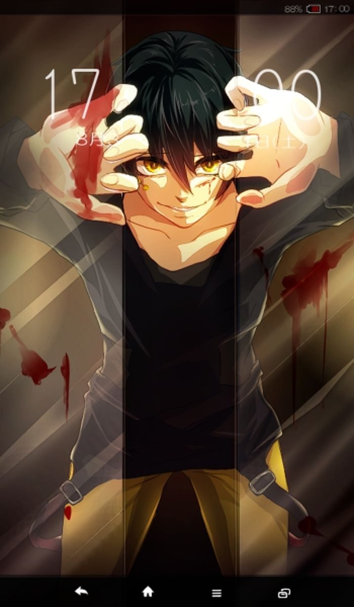 Kagerou Project Cool Anime Wallpapers Anime Background Dark Anime Anime wallpaper for broken screen