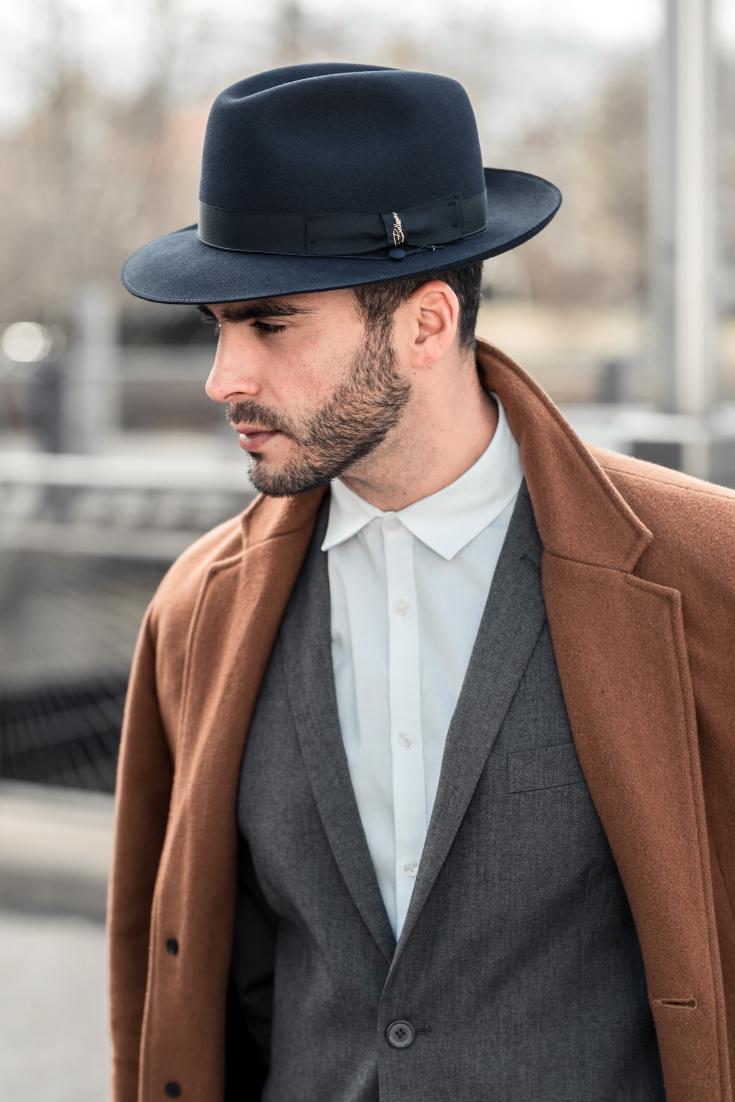 Medium Brim Fedora By Bellissimo Photoshoot Hats For Men Fedora Mens Fashion