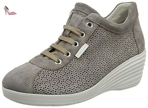 Stonefly EASY 1 Brun clair - Chaussures Baskets basses Femme