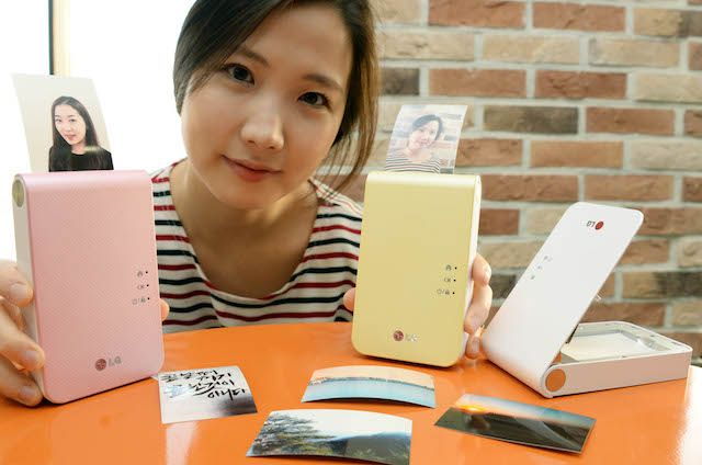 New LG Pocket Photo Printer Launched