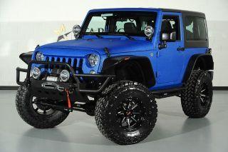 2015 Jeep Wrangler Sport For Sale In Dallas Tx 53 888 Blue