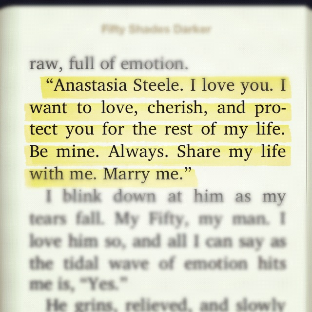 Naughtiest parts of 50 shades of grey