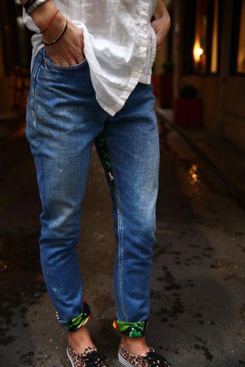 любыми как подвернуть джинсы фото неизвестно, будет реставрация