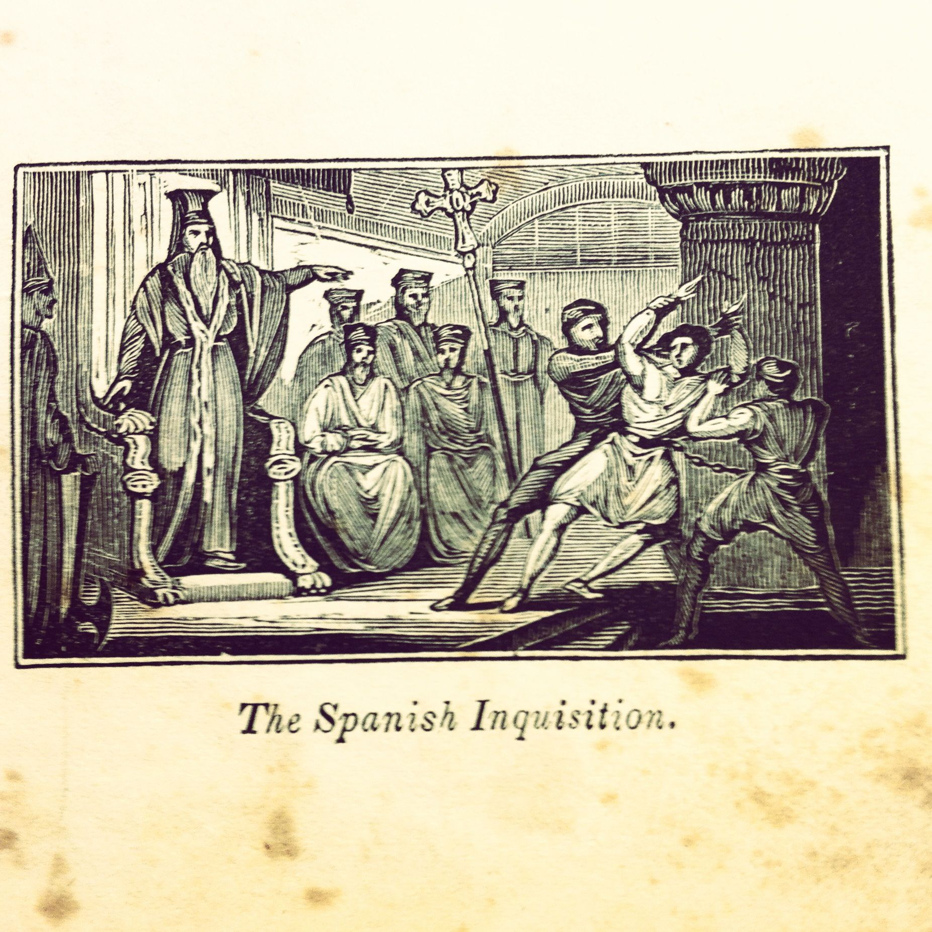spanish inquisition engraving libraries book porn spanish inquisition engraving