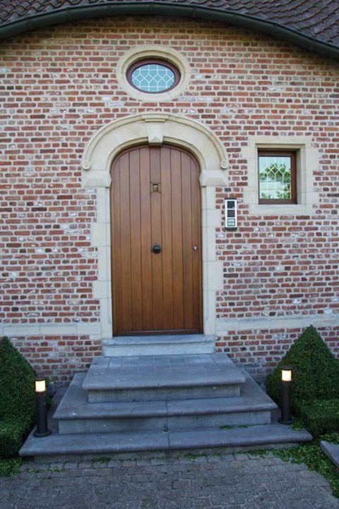 Belgisch Hardsteen Buiten.Buiten Trap Van Belgisch Hardsteen Gevelbekleding Doors