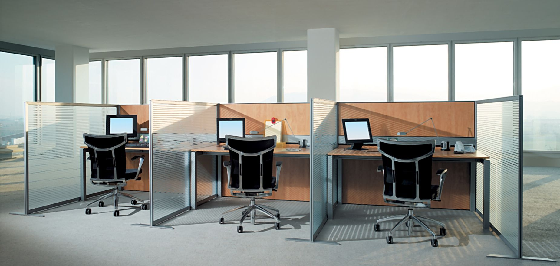 Cubiculos para oficina buscar con google sala de for Oficinas interiores