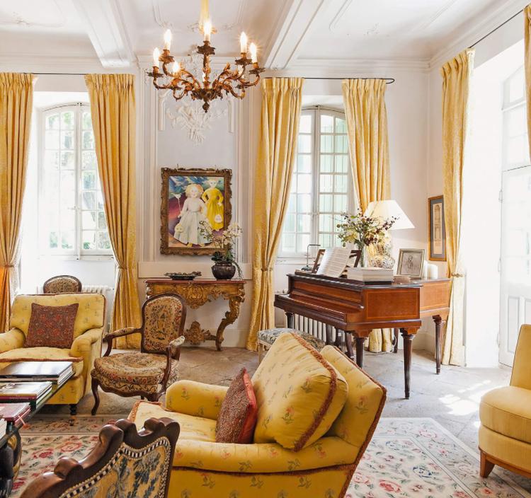 Decor Travel The French Chateau Mireille St Remy De Provence France Cool Chic Style Fashion