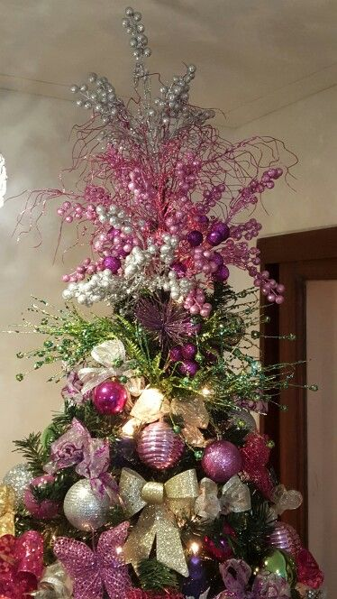 Christmas tree topper #navidad