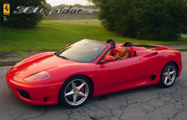 2000 2005 Ferrari 360 Modena Spider Ferrari 360 Ferrari