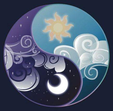 43+ Trendy Tattoo Moon Sun Stars Yin Yang #tattoo