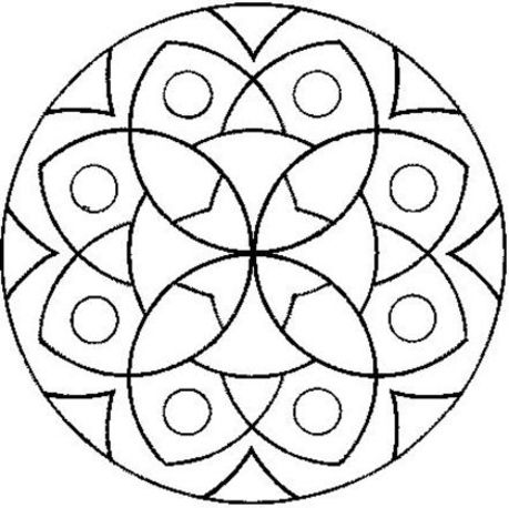 disegni da colorare i mandala