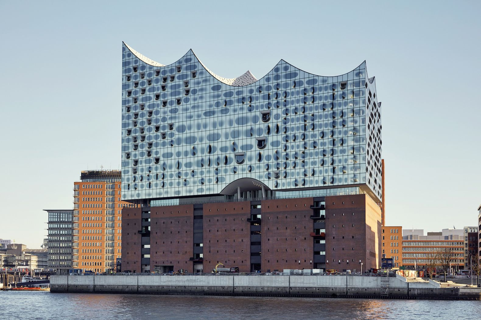 Herzog De Meuron S Stunning Elbphilharmonie To Finally Open In January Cultural Architecture Architecture Elbphilharmonie Concert Hall