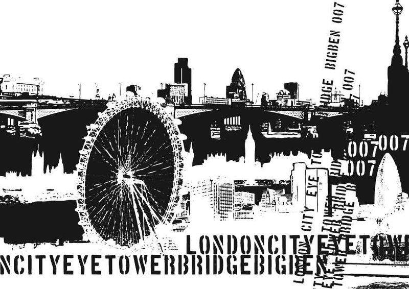 Livingwalls XXL-Tapete London (M) 032001 preiswert