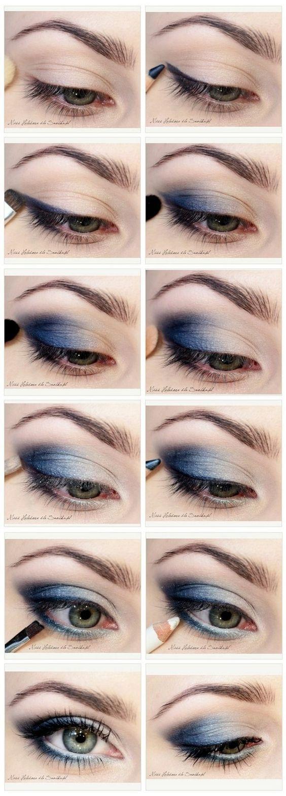 11 Einfache Schritt Für Schritt Make Up Tutorials Für ...