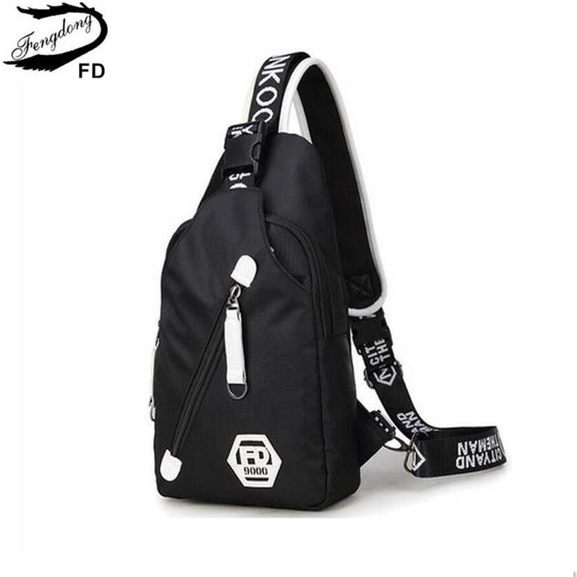 Crossbody Bag For Men Women Single Shoulder Pack