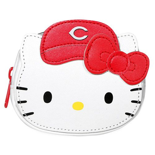 Cincinnati Reds Hello Kitty Pouch Bag - MLB.com Shop