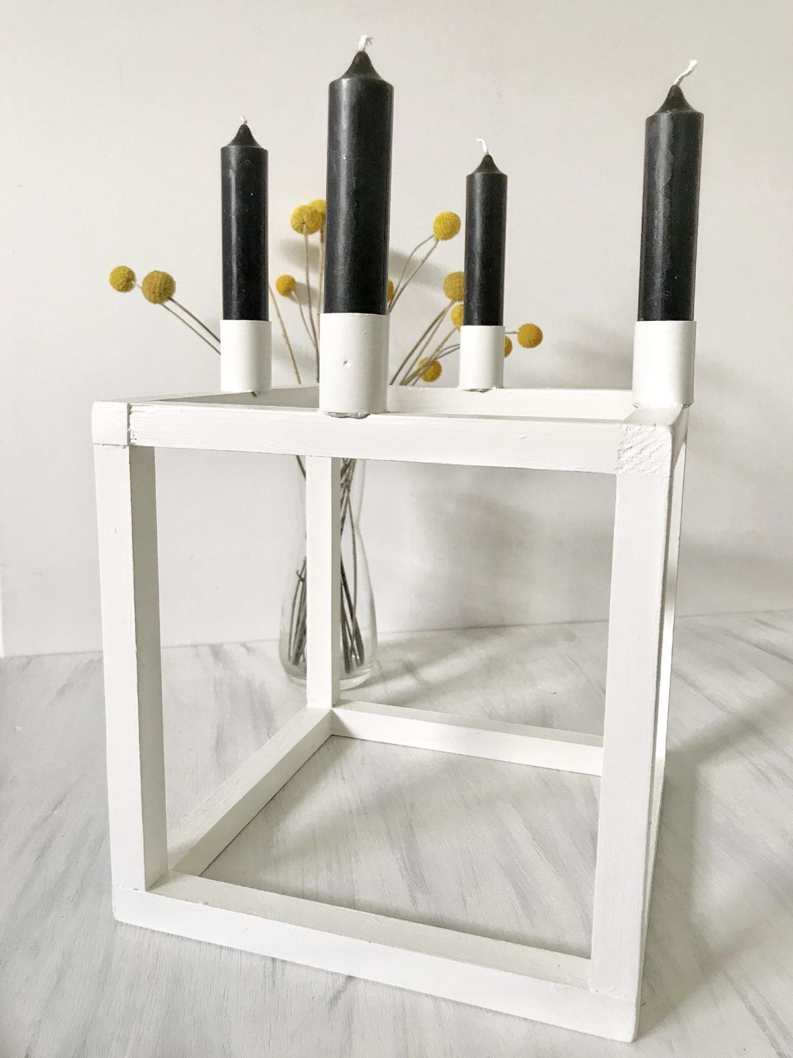 DIY: Drei Kerzenleuchter im skandinavischen Design - Chalet8
