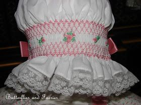 Karen's Butterflies and Faeries: Smocking and Lace Details for Project Run & Play Sew-Along
