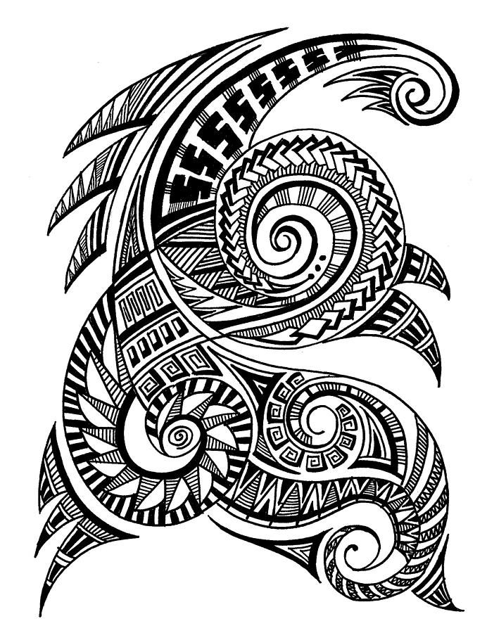 Art Maori Tattoo: Pin By Ms Chaotica On Polynesian Art