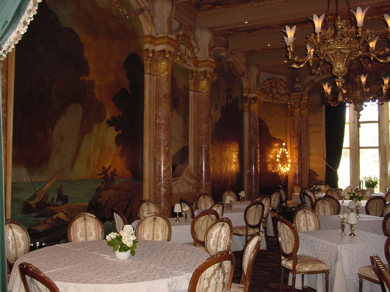 The Dining Room At Mar A Lago