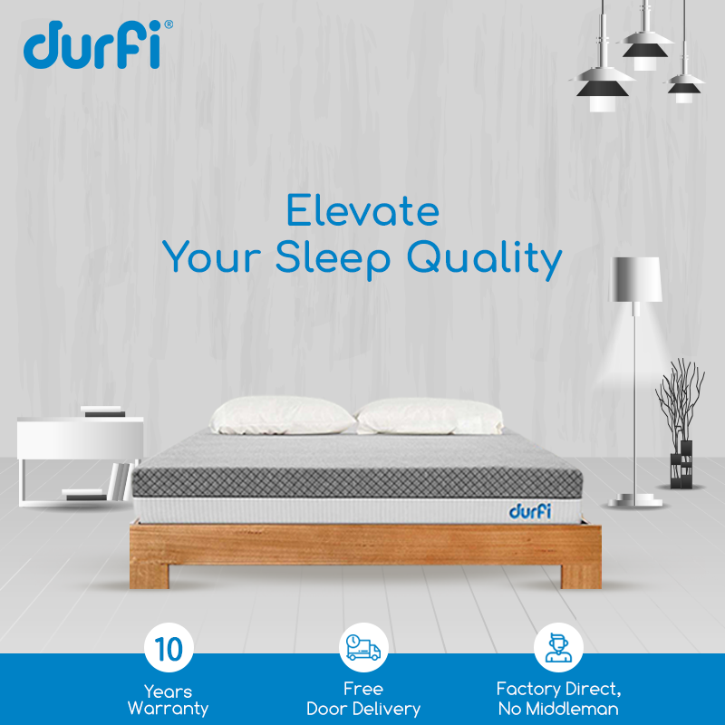 Experience The Enhanced Quality Of Sleep With Durfi Mattress 0 Emi Free Delivery 10 Years Warranty Mattress Online Mattress Sleep Comfortably