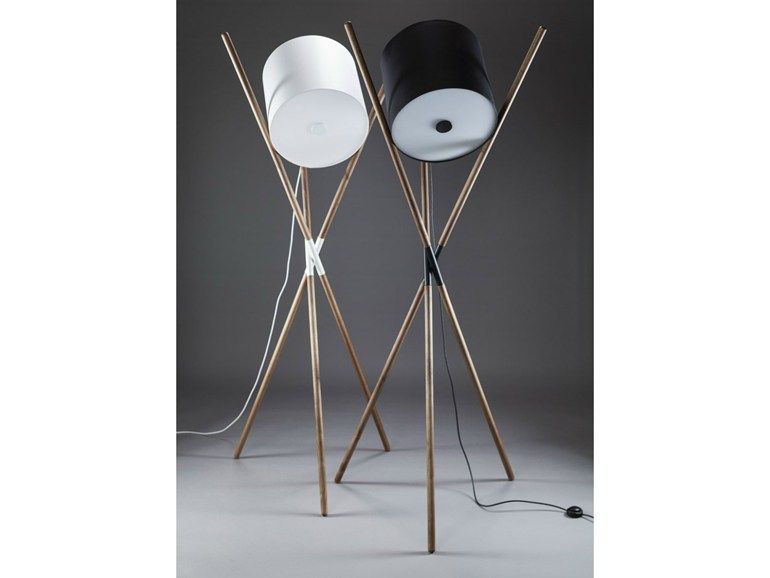 Adjustable wooden floor lamp SHIFT Shift Collection by Artisan | design Rudjer Novak-Mikulic, Marija Ruzic